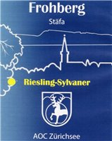 Frohberg Riesling - Sylvaner 75cl