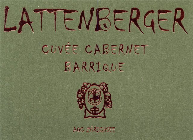 Lattenberger Cuvée Cabernet Barrique 75cl